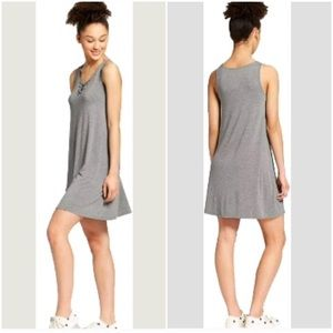 Mossimo Tank Dress, in Gray